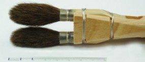 Chiqueteur Brush, Squirrel Hair, No. 1½