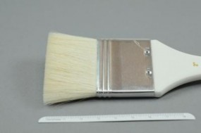 Priming Brush, flat, Goat Hair, No. 1½ inch