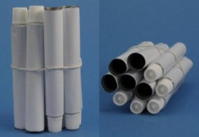 Aluminum Tubes, approx. 8 ml